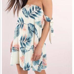 Tropical palm dress